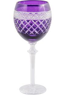 Taça De Cristal Lodz Para Vinho De 400 Ml Nowy