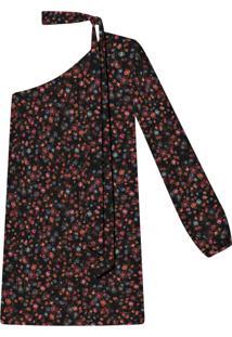 Vestido Ombro Só Com Faixa Tecido Wild Flower - Lez A Lez
