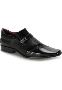 Sapato Social Masculino Gofer - Preto