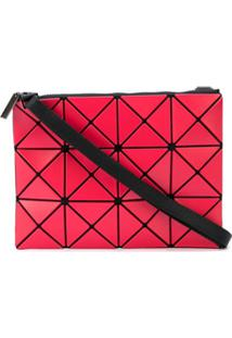 Bao Bao Issey Miyake Bolsa Transversal Com Padronagem Geométrica - Vermelho