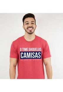 Camiseta Zé Carretilha Tricolor Daquelas Camisas Masculina - Masculino