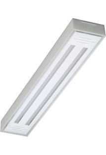 Luminária 2 Lâmpadas 10W 6500K Transparente Tualux