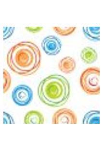 Papel De Parede Adesivo - Círculos Traçados - 023Ppa