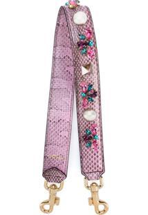 Dolce & Gabbana Alça Para Bolsa Com Aplicações - Rosa