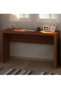 Mesa Escrivaninha Me4135 Amendoa - Tecno Mobili