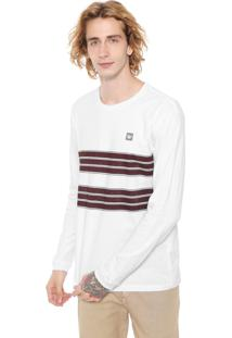 Camiseta Hang Loose Sets Branca/Marrom