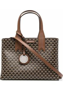 Emporio Armani Top-Handle Tote Bag - Marrom