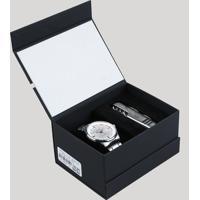 f4740e71fde Kit De Relógio Analógico Orient Masculino + Canivete - Mbss1295 Kc22S1Sx  Prateado - Único