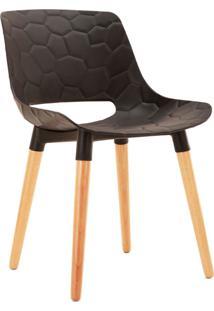 Cadeira Eliane Preta Rivatti Móveis