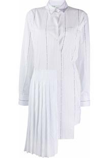 Off-White Vestido Envelope - Branco