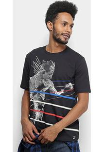 Camiseta Ellus Fine Sportdlx Boxing Loose Masculina - Masculino