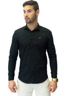 Camisa Social Masculina Slim - Masculino