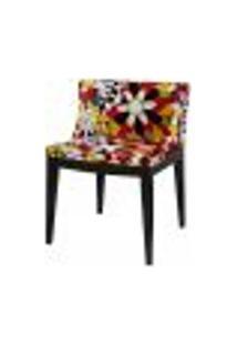 Cadeira Christie Senhorita Mademoiselle Tecido Flor Camelia