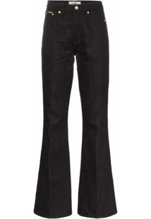 Eytys Oregon High-Waisted Jeans - Preto