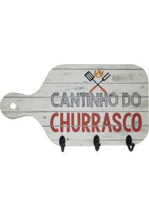 "Porta Chaves Tábua ""Cantinho Do Churrasco""- Off White & Kapos"