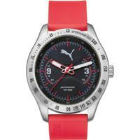 65445fd4d68 Relógio Puma - Masculino-Vermelho