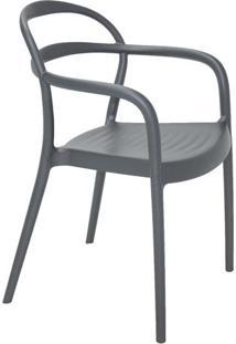 Cadeira Sissi- Grafite- 80,5X57X54Cm- Tramontinatramontina