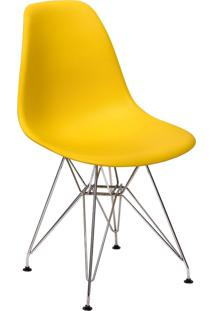 Cadeira Império Brazil Charles Eames Eiffel Base Metal