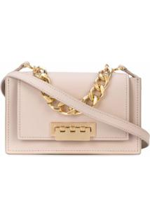 Zac Zac Posen Bolsa Transversal Earthette Accordion Mini - Neutro