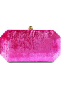 Tyler Ellis Clutch Perry Pequena - Rosa