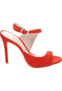 Sandália Future Verniz Red Orange | Schutz