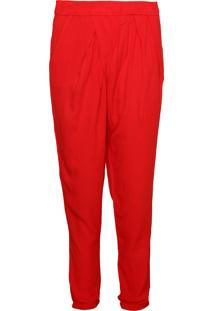 Calça Colcci Pijama Vermelha