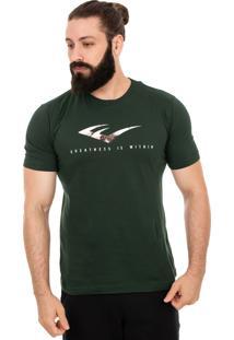 Camiseta Everlast E Textura Verde Militar