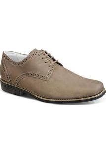 Sapato Social Sandro & Co Masculino - Masculino-Bege