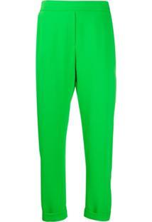 P.A.R.O.S.H. Calça Reta - Verde