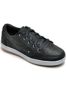 Sapatênis Infatil D&R Shoes Casual Masculino - Masculino-Preto