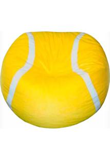 Pufe Bola De Tennis - Puff - Amarelo - Dafiti