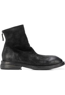 Marsèll Distressed Ankle Boots - Preto