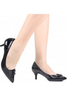 Sapato Jorge Bischoff Scarpin Paisley Em Couro