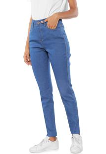 544b3a75731 ... Calça Jeans Malwee Skinny Pespontos Azul