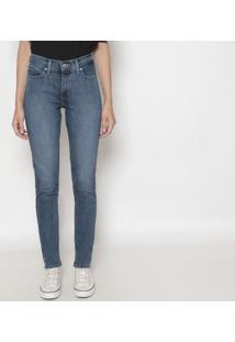 Jeans 311™ Shaping Skinny Com Rebites- Azul Escurolevis