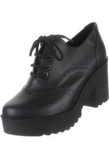 Oxford Damannu Shoes Napa Preto