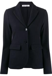 Barena Single Breasted Jacket - Azul