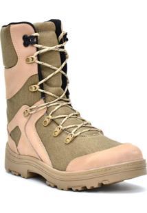 Bota Atron Shoes Exercito Areia 293