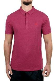 Camisa Polo Red Nose Masculina - Masculino-Vinho