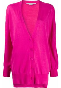 Stella Mccartney Loose Fit Cardigan - Rosa