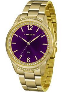 0e089c954c Relógio Digital Lince Vidro feminino. Relogio Lince - Feminino-Dourado