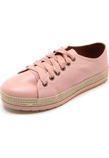Tênis Dafiti Shoes Sola Alta Rosa