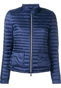 Save The Duck Classic Padded Jacket - Azul