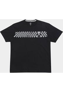 Camiseta Volcom Silk Check Two Masculina - Masculino