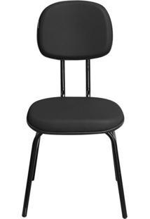 Cadeira Pethiflex Csf02 7/8 Couro Preto