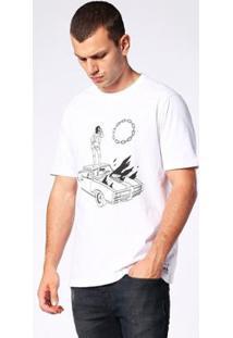 Camiseta Diesel T-Just-Sj Masculina - Masculino-Branco