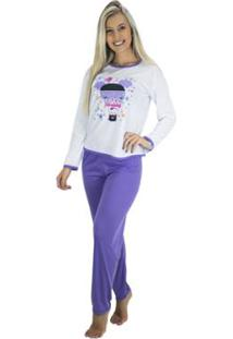 Pijama Mvb Modas Longo Inverno Feminino - Feminino
