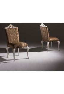 Cadeira Bella Madeira Maciça Design Clássico Avi Móveis
