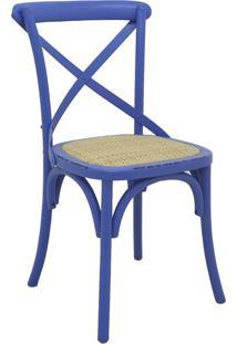 Cadeira Katrina Azul Rivatti Móveis