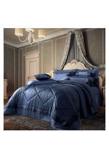 Edredom Queen Plumasul Château Versailles 400 Fios 240X260